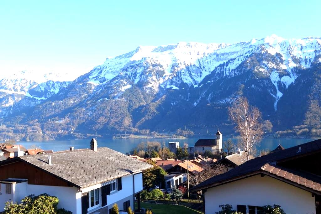 Apartment lake and mountain view - Ringgenberg - Lejlighed