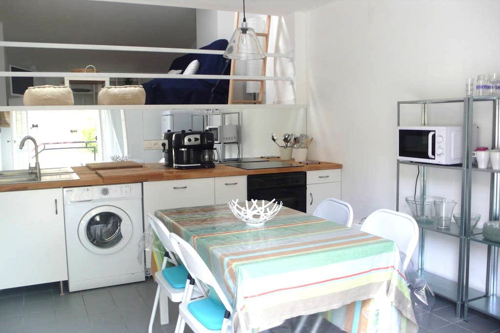 Appartement 2 chambres jardin privatif garage wifi - Collioure - Appartamento