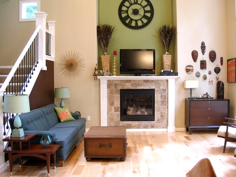 Lovely Quiet Room in a greenbelt! - Bellingham - Hus
