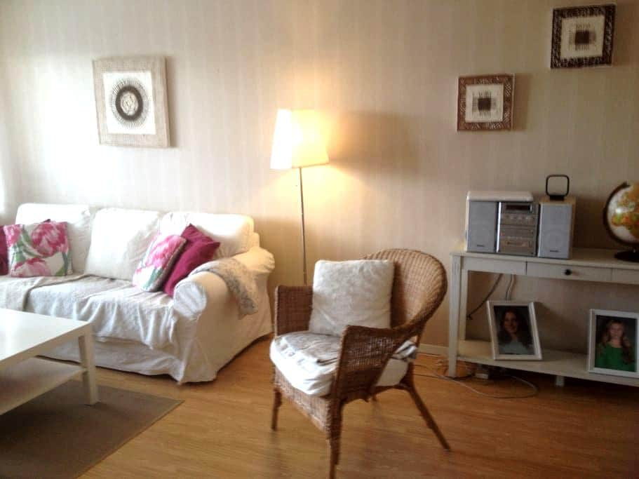Central apartment in peaceful area - Västerås - Apartment
