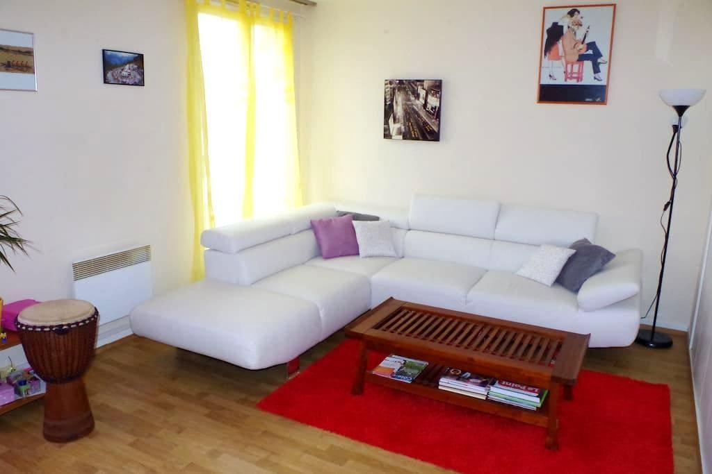 Grand appartement au centre ville - Châtillon-sur-Seine - Apartamento