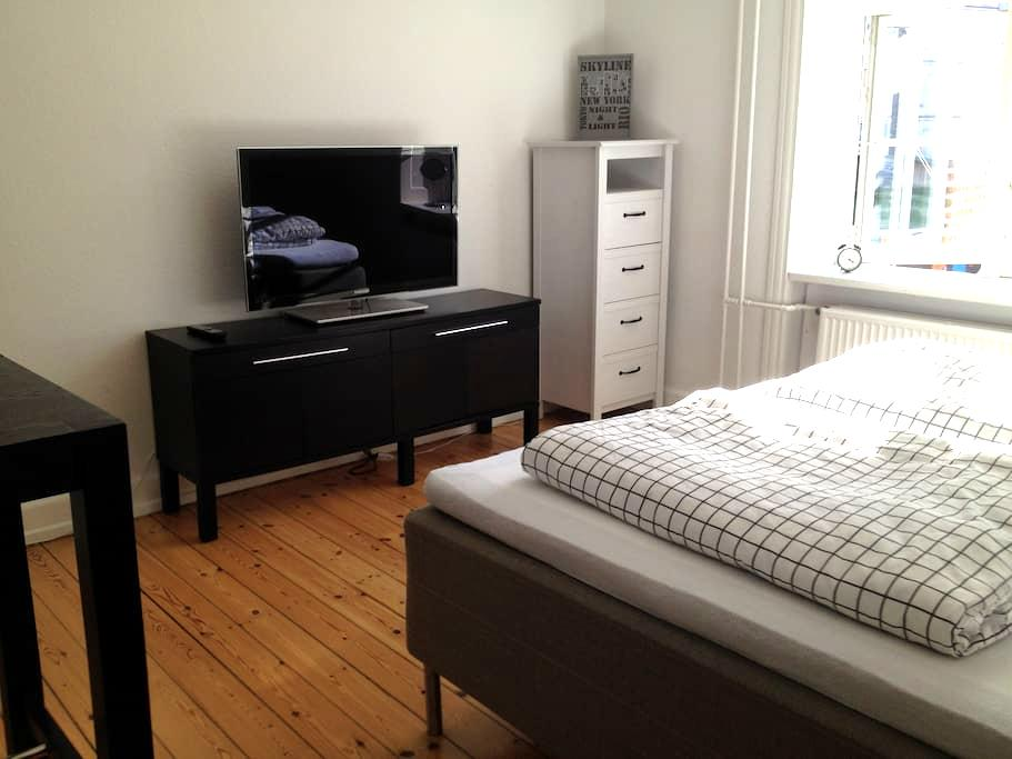 Comfy bed, big bright room, super wi-fi - Копенгаген - Квартира