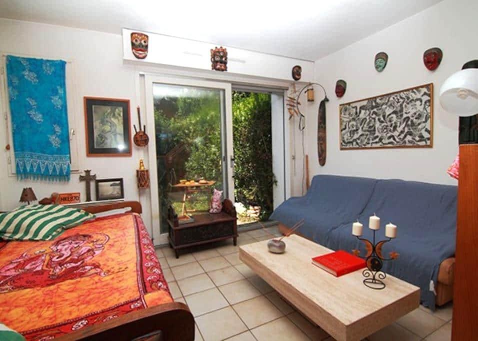 Apartment very quiet near the beach of Socoa - Urrugne - Apto. en complejo residencial