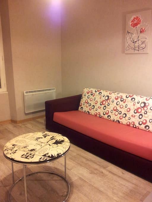 60m2; petit déj-compri (1er j) +lit Bébé - Millau - Apartment