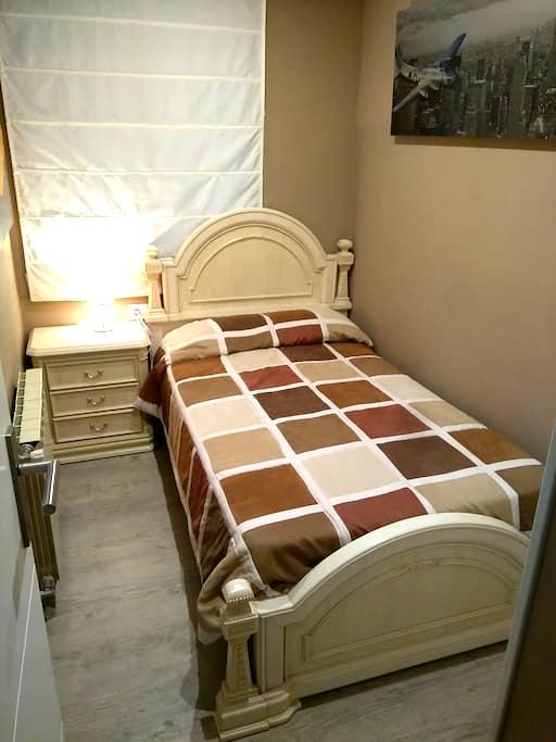 Habitación individual una cama - Donostia - Lägenhet