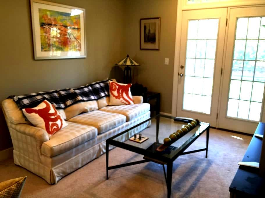 Cozy one bedroom, full private bath - Rehoboth Beach - Complexo de Casas
