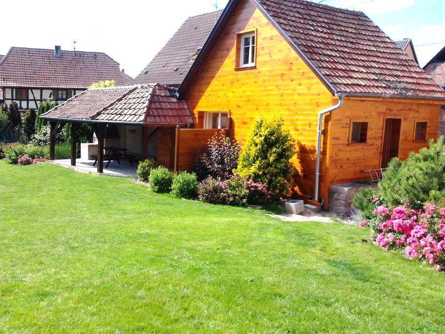 Gîte en Alsace - Artolsheim - Huis