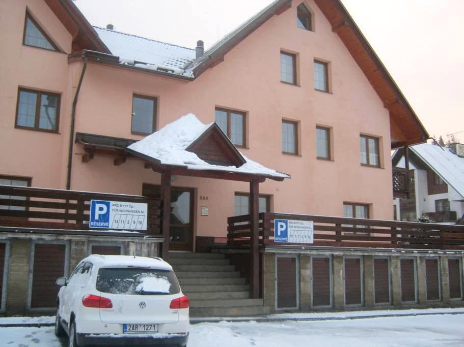 Apartmán 2+1, Klondajk, Harrachov - Harrachov - Wohnung