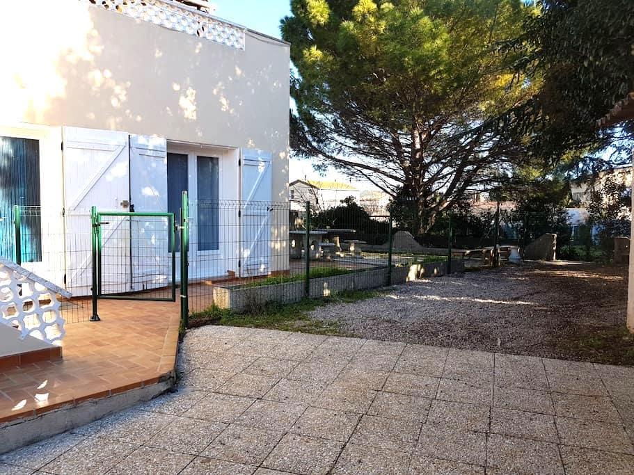 Appartement T4 de 67m² avec terrasse et jardin - Coursan - Apartamento