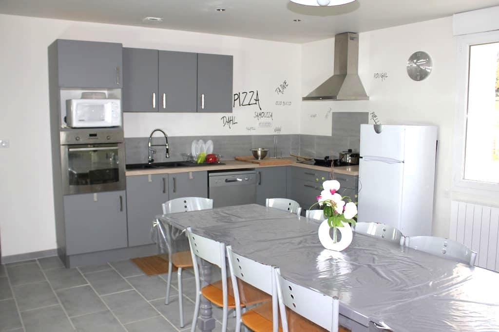 Chambres doubles meublées de septembre à juin - Marmande - Flat