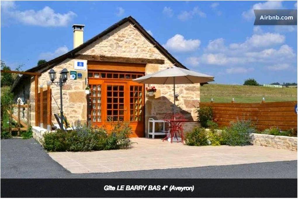 Gîte LE BARRY BAS - 4 étoiles - Gabriac - Σπίτι