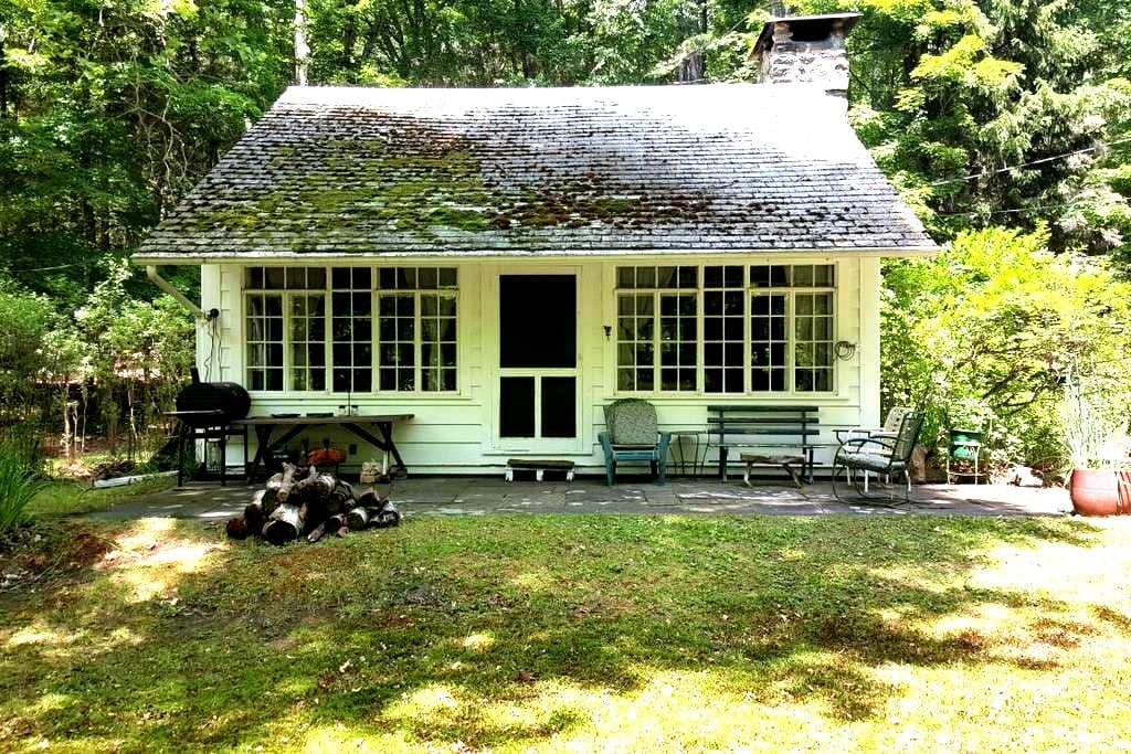 Serene, Private, Rustic Cottage on a Stream - Bearsville - Cabane