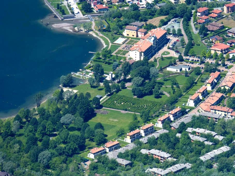 Villa with direct access to Lake Lugano 8-12 pers. - Porlezza - Casa