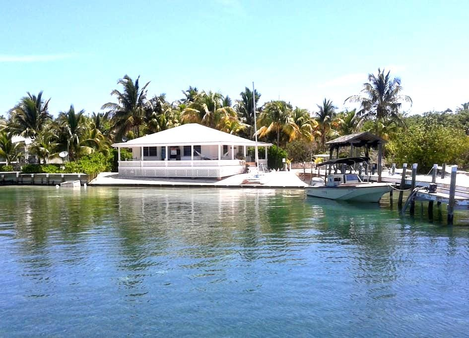 Breathtaking guesthouse in Man-O-War Cay, Bahamas - Marsh Harbour - Gæstehus