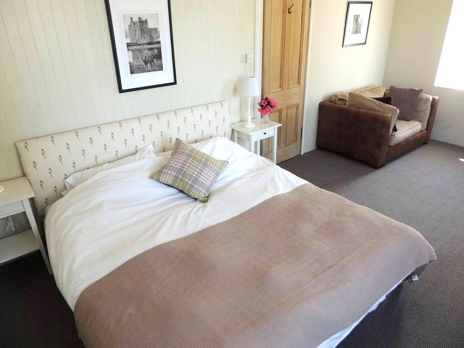 Welcoming B & B former Hunting Lodge Loch Lomond#1 - West Dunbartonshire - Inap sarapan