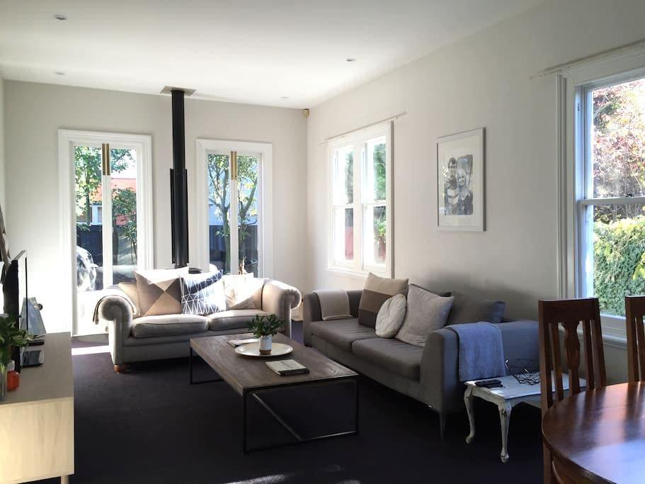 Charming Central City Villa - Christchurch - Casa de camp