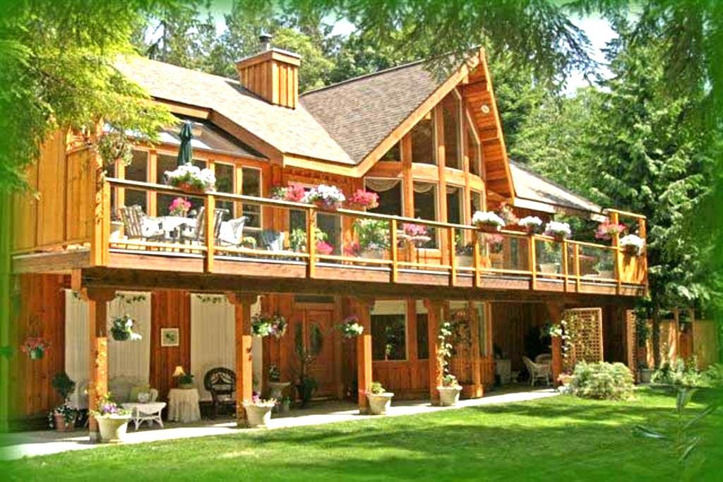 Woodland Garden Suite - Roberts Creek - Dom