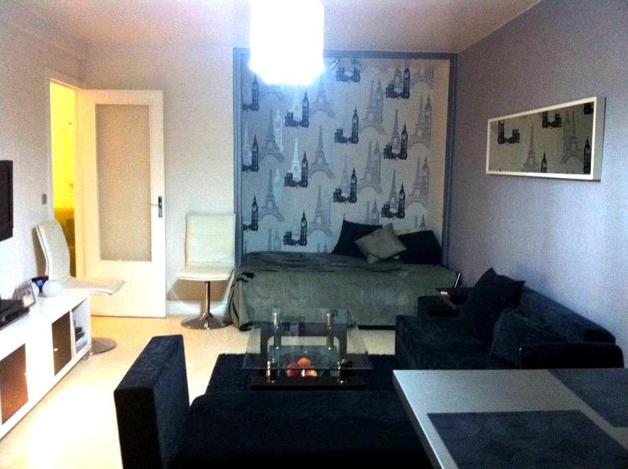 Beau studio de 34 m2 centre ville - Aulnay-sous-Bois - Apartment