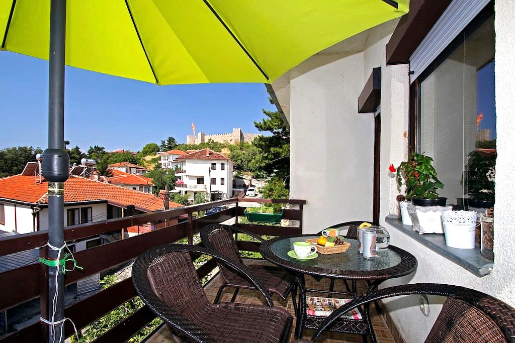 peaceful apartment in the old city CITADELA - Ohrid - Huis