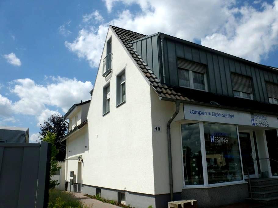 Gemütliche Wohnung mit 30qmTerrasse - Greven - Apartemen