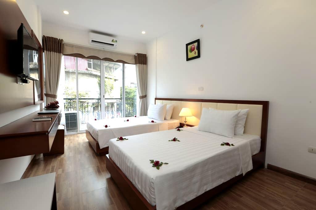 Balcony twin room in HN Old Quarter - Hanói - Bed & Breakfast