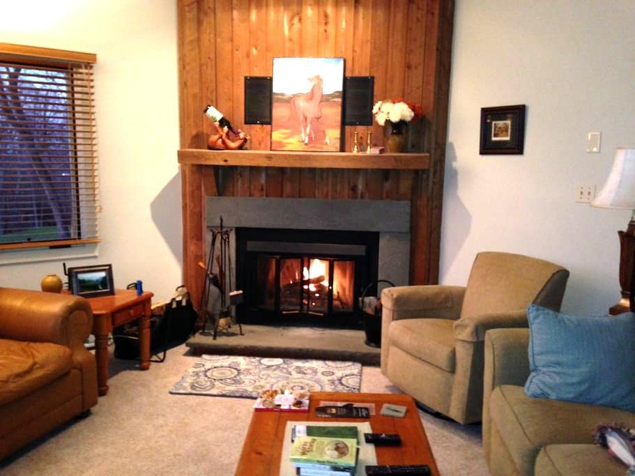 Cozy Private 2BR Walkout on 18th Tee Devils Knob - Roseland - Wohnung