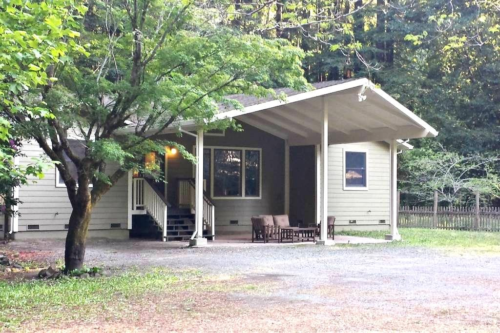 A Family Estate Among the California Redwoods - Cazadero