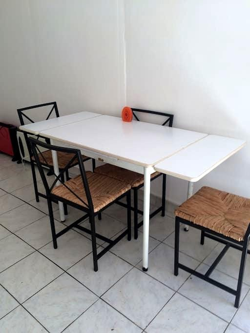 Studio sur jardin pour personne seule - Drancy - Huoneisto