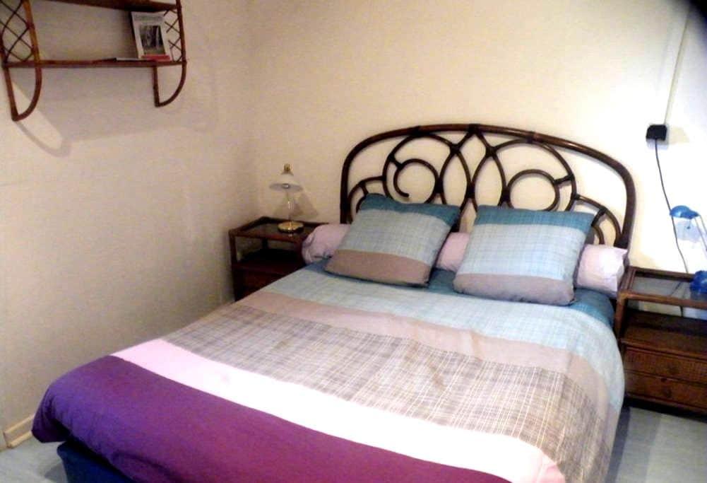 bedroom and bathroom - Espelette - Espelette - Ev