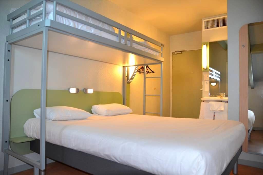 Chambre Hôtel Ibis Budget Brive - Brive-la-Gaillarde - Jiné