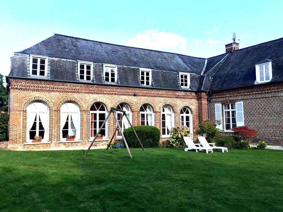 Gîte au château - Becquigny
