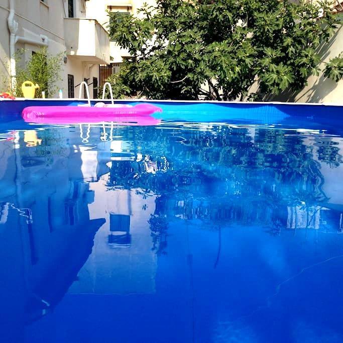 Accogliente casa vacanze & piscina. Stardust Home. - Palermo - Haus