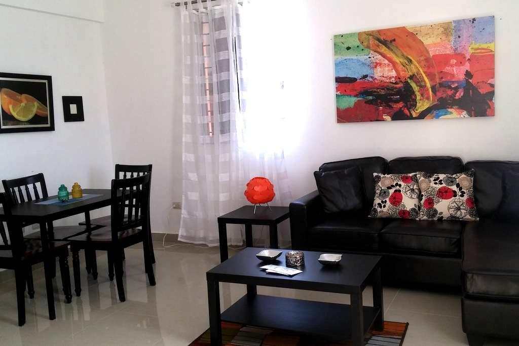 Apartamento céntrico, en lugar exclusivo - Santiago de los Caballeros - Apartamento