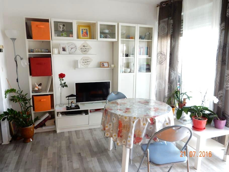 Studio tt confort en coeur de ville - Alès - Apartemen