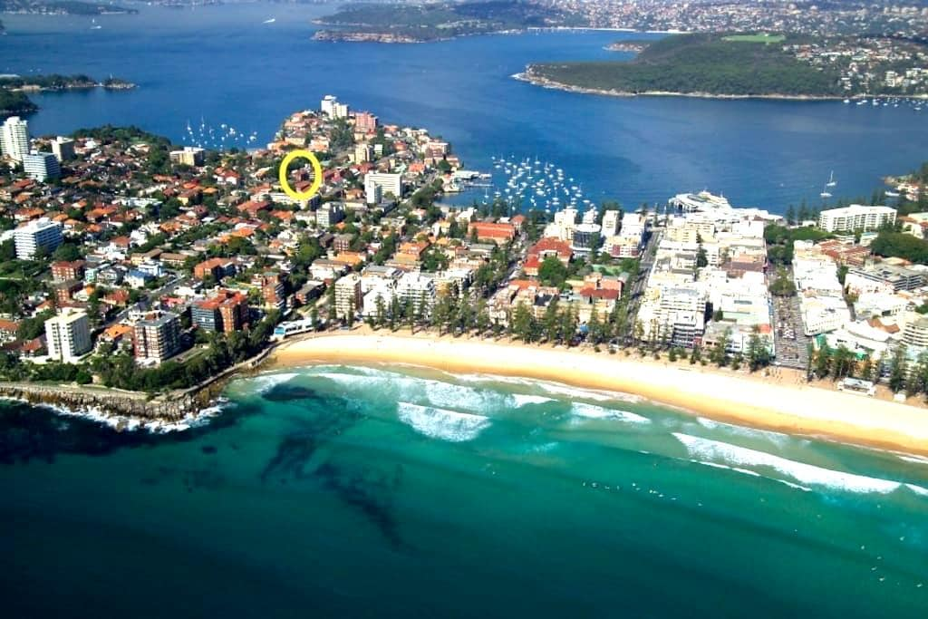 Beautiful 3 bedroom unit, close to all beaches - Manly - Leilighet
