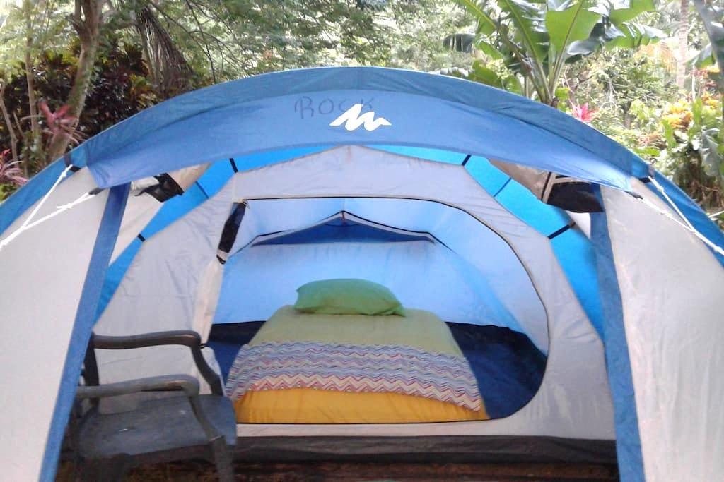 "Big banana campground ""Rock"" - Soufriere - Tenda de campanya"