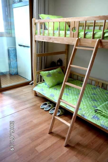 GREEN HOUSE (Twin room) - Busanjin-gu - 公寓