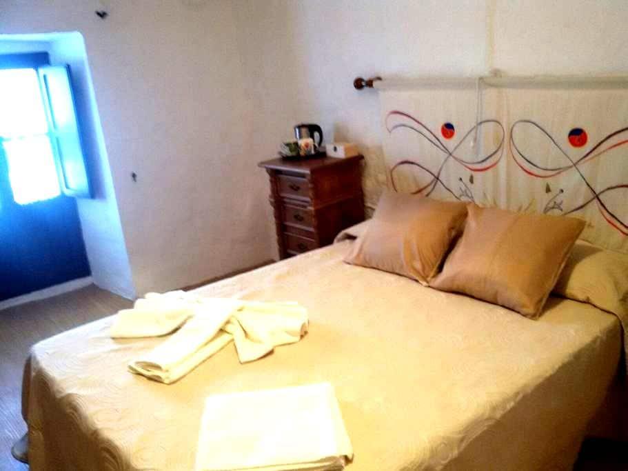 HABITACION CAMA DOBLE CASA ENCANTO - Algodonales - Rumah