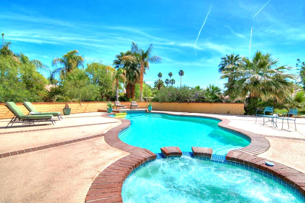Private Pool and Spa..Spacious lot! - Rancho Mirage - Maison