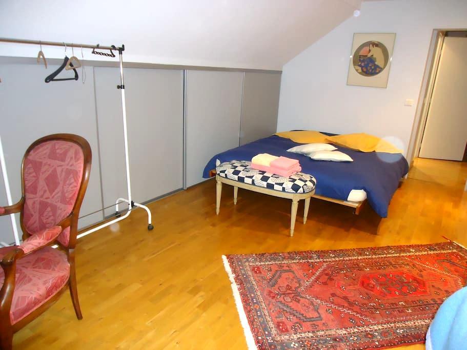 ch. 24m2+s. bain privée 3pers THAON - Thaon-les-Vosges - Huis