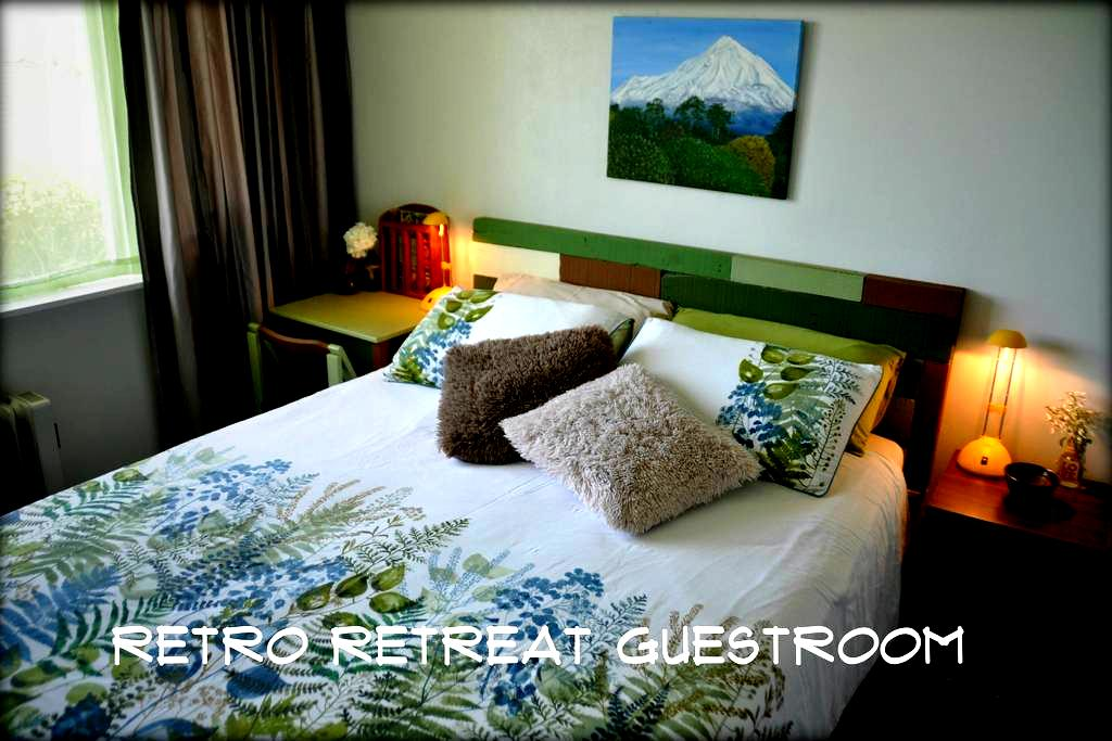 Retro Retreat on Surf Highway 45 - New Plymouth - Bed & Breakfast