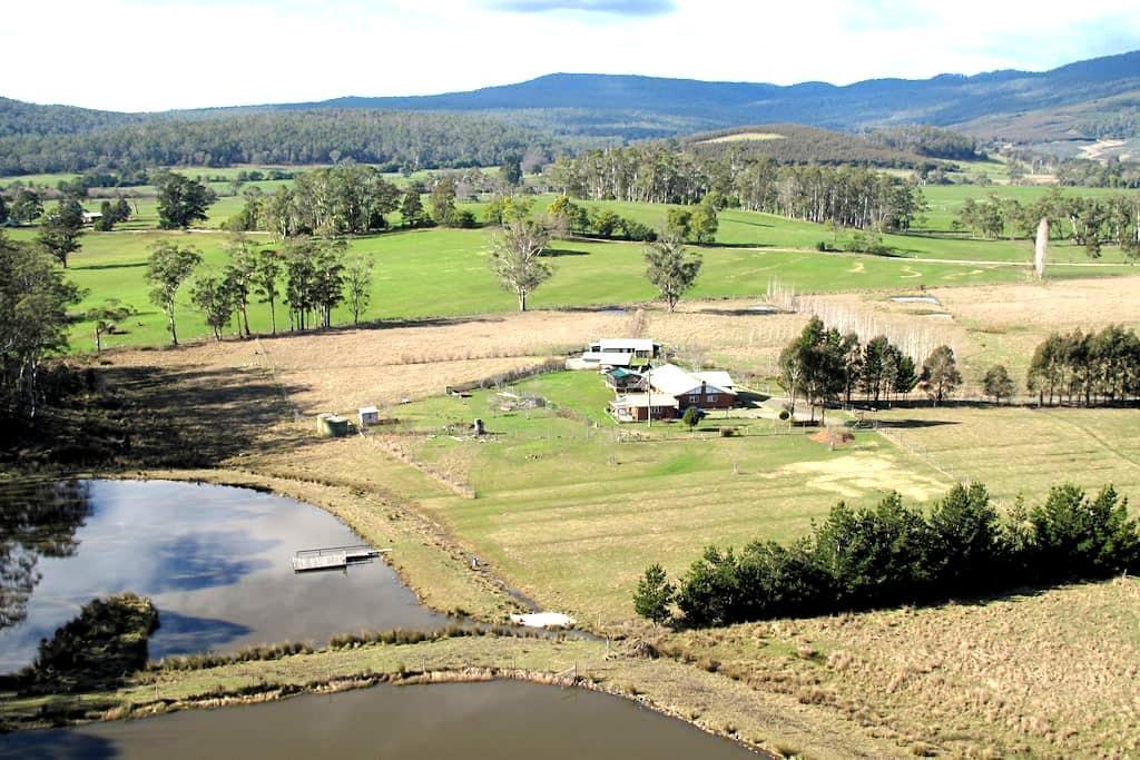Best Farmstay B&B in Northern Tassy - Quamby Brook - Chalé