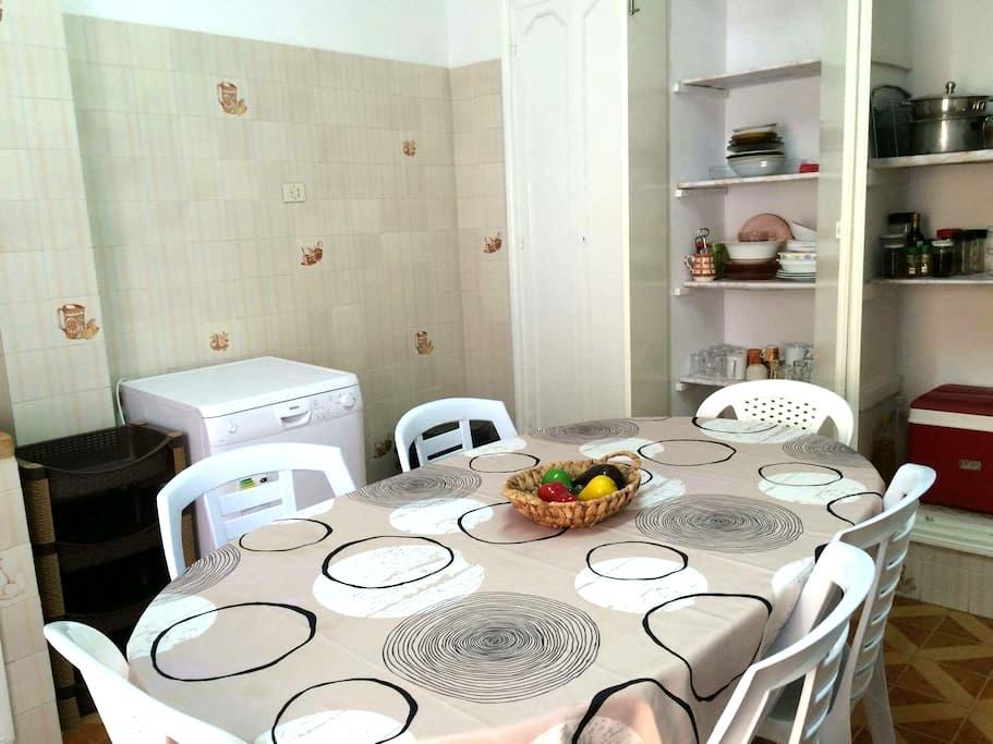 Appartement 130 m2 à 5 mn de la mer - Sousse - Wohnung