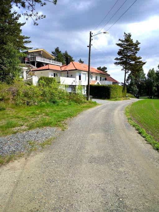 Fantastic house in quiet area - larkollen - Huis