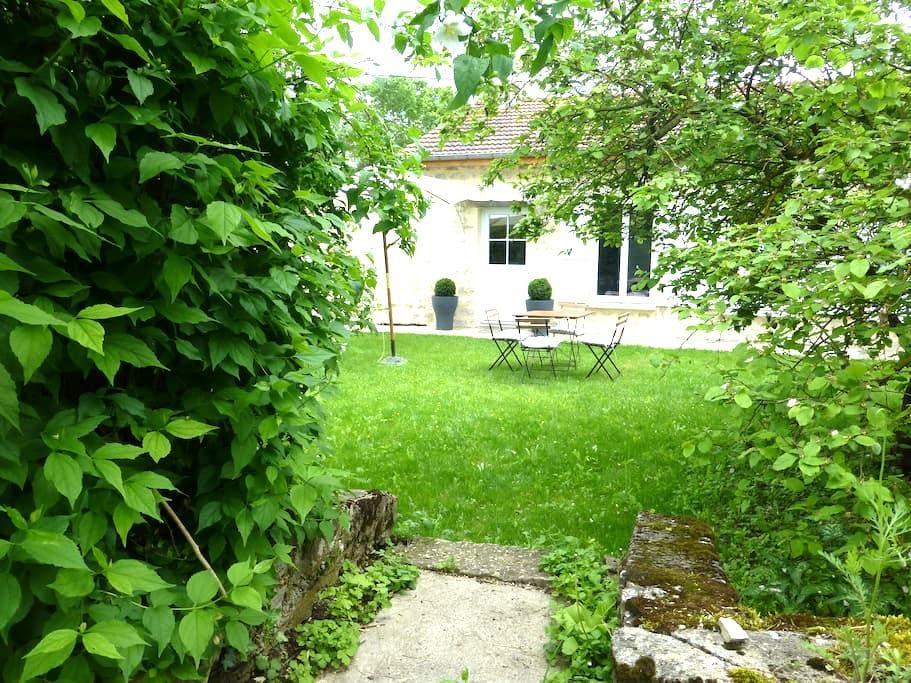Gîte les O'vy en Bourgogne, soyez les bienvenus ! - Lézinnes - Haus