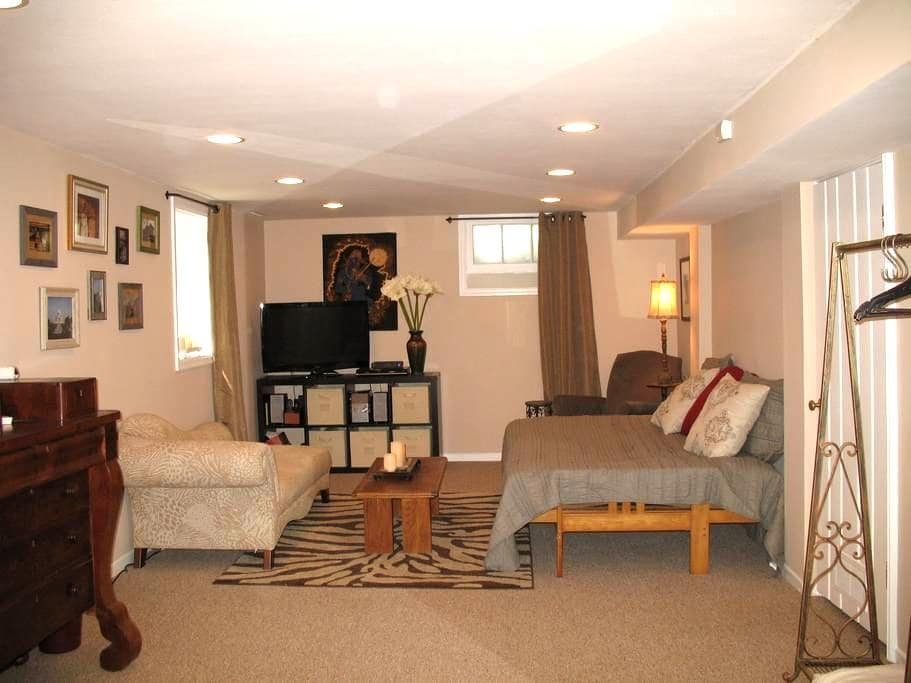 Spacious, private studio and bath. - Minneapolis - Hus