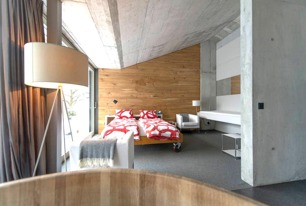 room with breathtaking view - Weggis