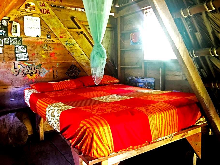 Murcielego Hut. Zopilote permaculture farm/hostel - Rivas - Hut