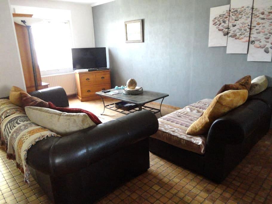 location maison familiale 4 chambres 5 lits - Berck - Huis