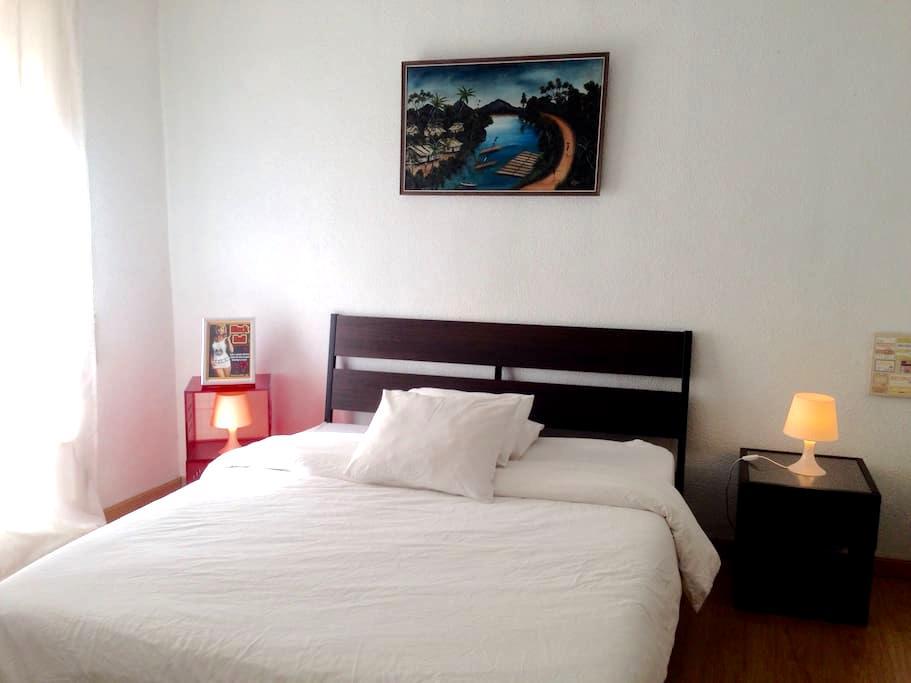 Habitación 7 Céntrica Muy Luminosa - Madrid - Maison